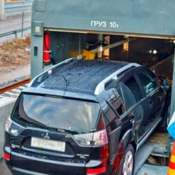 Перевозка автомобилей по ЖД