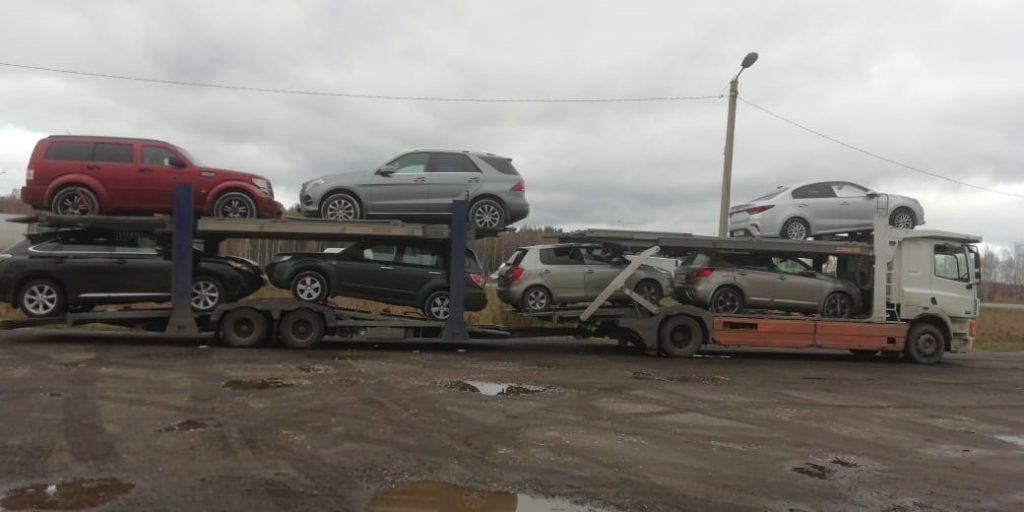 автовоз москва красноярск