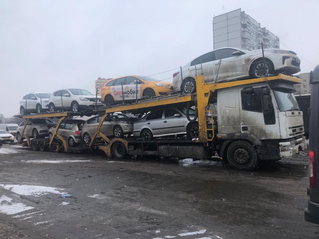 автовоз москва спб