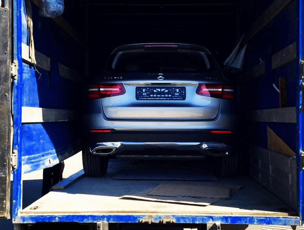 Перевозка крытым автовозом