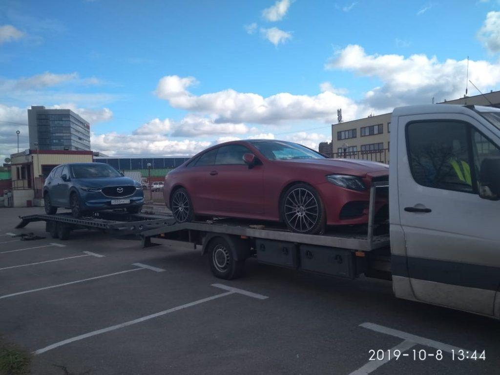перевозка автомобиля автовозом москва минск калининград