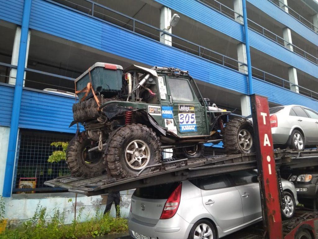 перевозка автомобиля автовозом санкт петербург москва