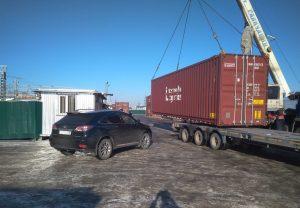 перевозка автомобиля в контейнере москва петропавловск камчатский