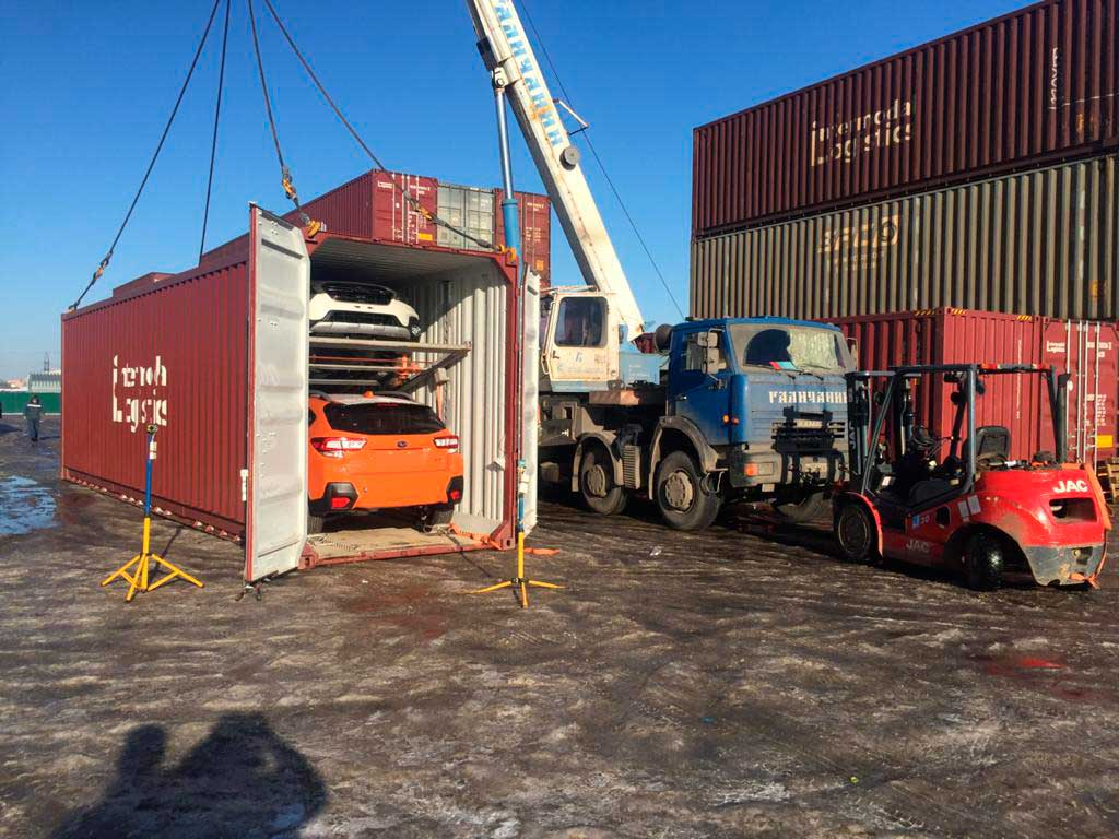 Перевозка автомобиля владивосток москва по жд