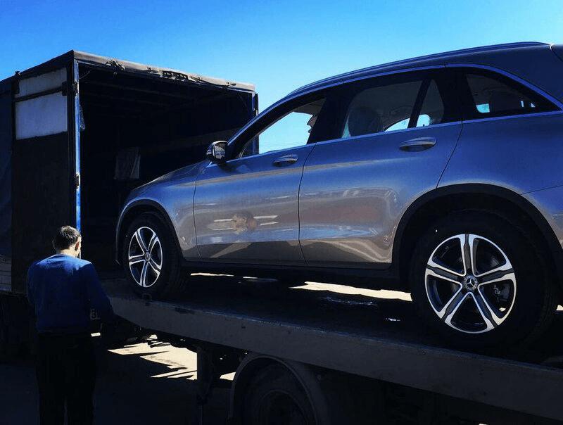 ВИП перевозка крытым автовозом