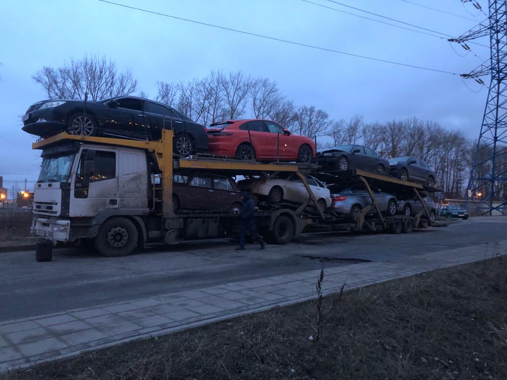 Автовоз Москва Краснодар